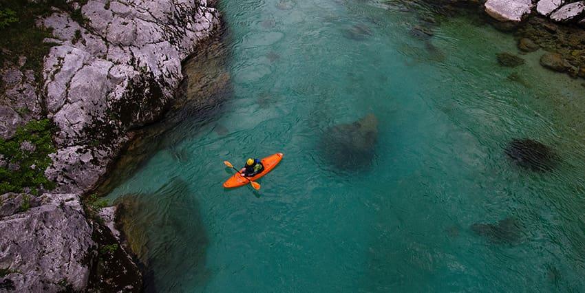 riviere soca slovenie