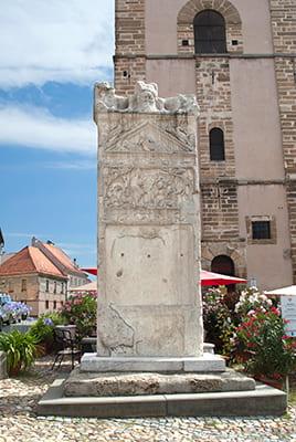 Stele romaine Orphée