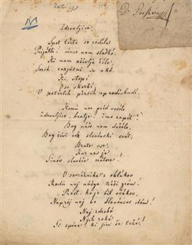poème zdravjlica