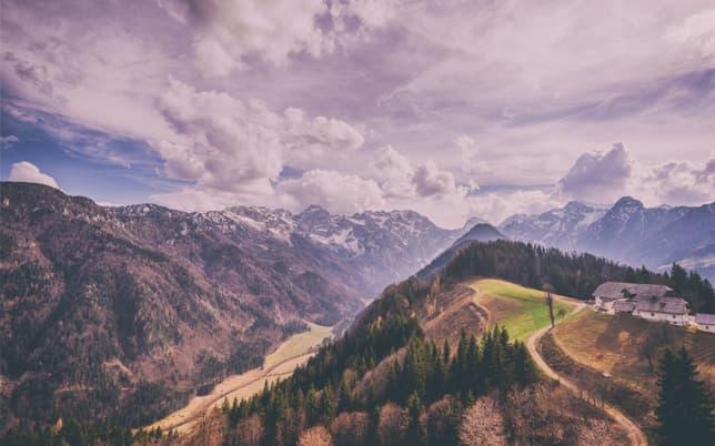 Montagnes slovènes
