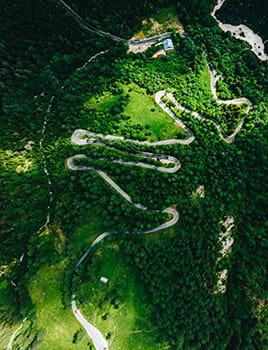 route alpine de vrsic